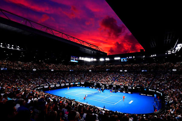 MELBOURNE: Australian Open 2020 Semifinals Including 3 Nights Accommodation for Two (Crown Metropol - Luxe Room)