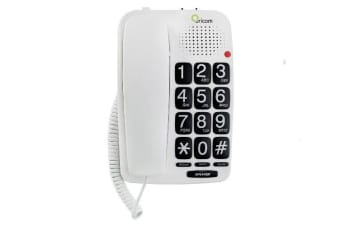 TP58WH ORICOM Big Button Speakerphone Oricom  Keep Your Hands-Free When Making or Receiving a Call  BIG BUTTON SPEAKERPHONE