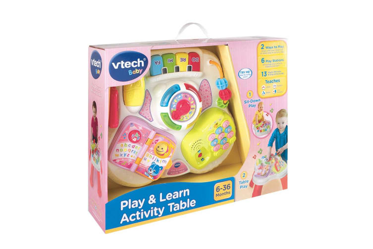 Vtech Play & Learn Activity Table (Pink)