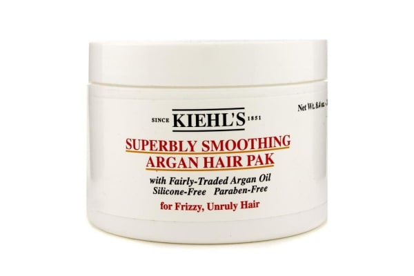 Kiehl's Superbly Smoothing Argan Hair Pak (For Frizzy, Unruly Hair) (240g/8.4oz)