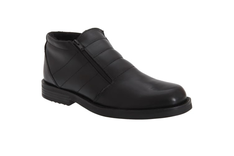 Roamers Mens Twin Zip Thermal Lined Boots (Black) (7 UK)