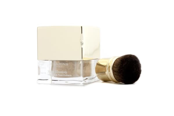 Clarins Skin Illusion Mineral & Plant Extracts Loose Powder Foundation (With Brush) - # 110 Honey (13g/0.4oz)