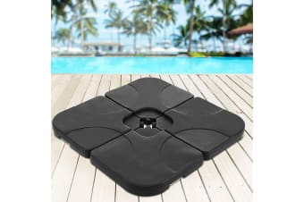 Outdoor Umbrella Stand Base Pod Sand/Water Patio Cantilever Offset