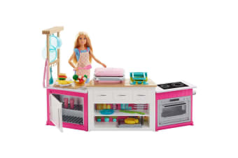 Barbie Ultimate Kitchen with Barbie Chef Doll