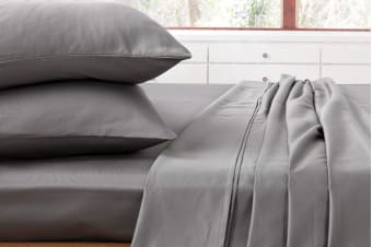 Ardor 1000TC Luxury Sheet Set (Charcoal)