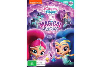 Shimmer and Shine Magical Mischief DVD Region 4