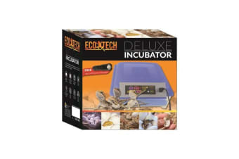 Eco Tech Deluxe Incubator for Reptiles Lizards, Snakes, Frogs