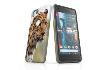 For Google Pixel 2 Case  Protective Back Cover  Preying Cheetah