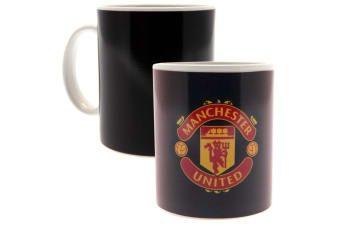 Manchester United FC Heat Changing Gradient Mug (Black)