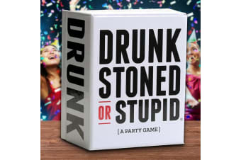 Drunk Stoned or Stupid - The Offensive New Party Game