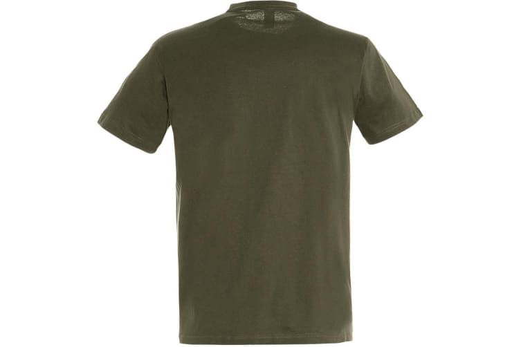 SOLS Mens Regent Short Sleeve T-Shirt (Army) (L)