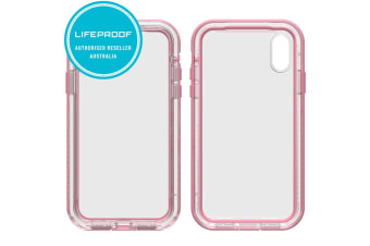 LifeProof Next Case/Cover Drop/Dirt Proof for iPhone XR - Cactus Rose/Clear