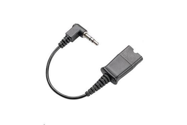 PLANTRONICS CABLE IP TOUCH CABLE FOR ALCATEL IP PHONES QD TO 3.5MM ANSWER BUTTON