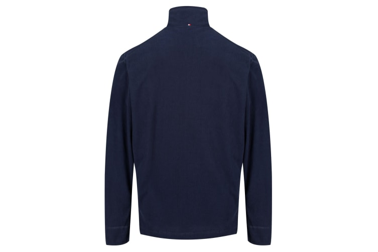 Regatta Mens Ulan Lightweight Fleece (Navy Mini Grid) (3XL)