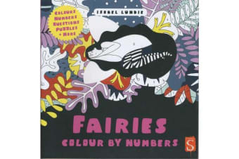 Colour By Numbers - Fairies