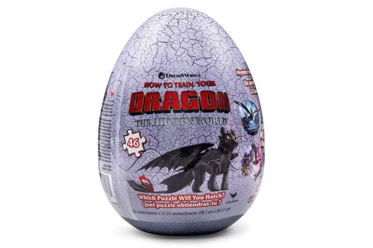 46pc How To Train Your Dragon The Hidden World Egg Jigsaw Puzzle Toy Kids 4y+