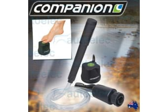 COMPANION D BATTERY POWER PORTABLE SHOWER WATER CAMP CAMPING OUTDOOR COMP467