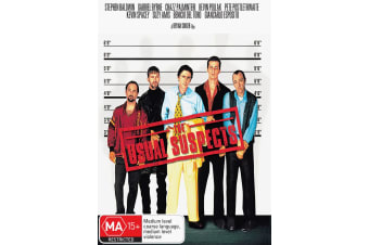The Usual Suspects DVD Region 4