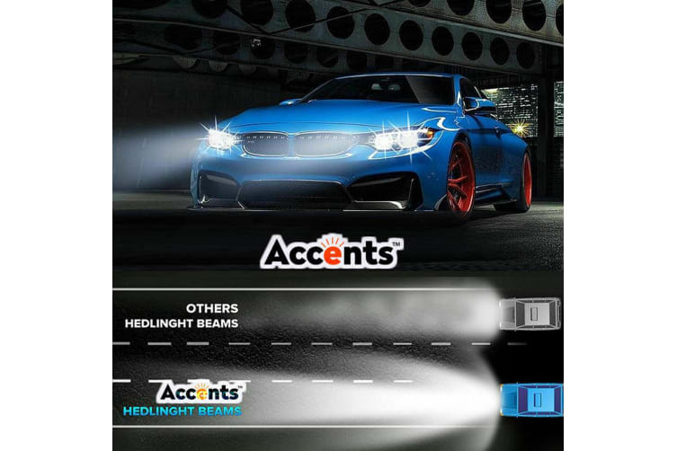 4 Side Cree 160W 16000LM LED Car Headlight H4 High Low Beam Replace Xenon HID