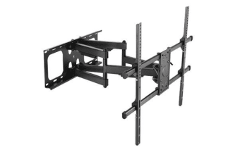 "Brateck Full-motion TV Wall Mount   for 50-90"" Curved and Flat TVs. Max VESA 800x600. Tilt 5  -15 ."