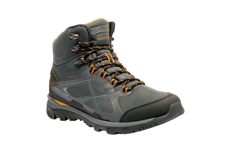 Regatta Great Outdoors Mens Kota Mid Walking Boot (Briar/Zinnia) (9 UK)