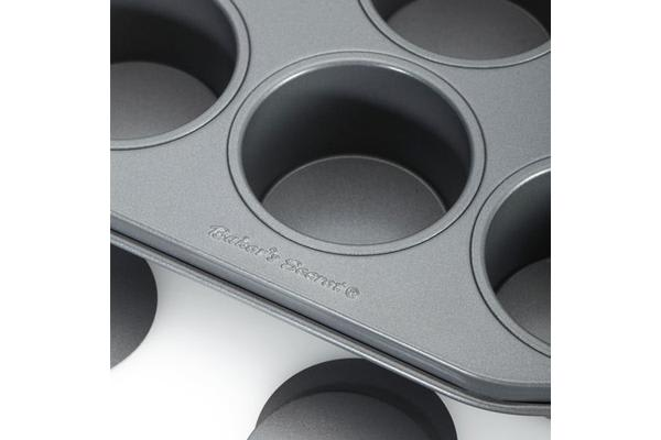 Baker's Secret Loose Base Dessert Pan 12 Cup