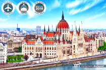 EUROPE: 17 Day Europe River Cruise & Tour Including Flights for Two