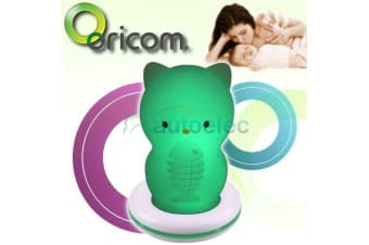 ORICOM LED BABY NIGHT LIGHT LAMP NITE LITE ROOM NEW VISUAL CAT RECHARGABLE