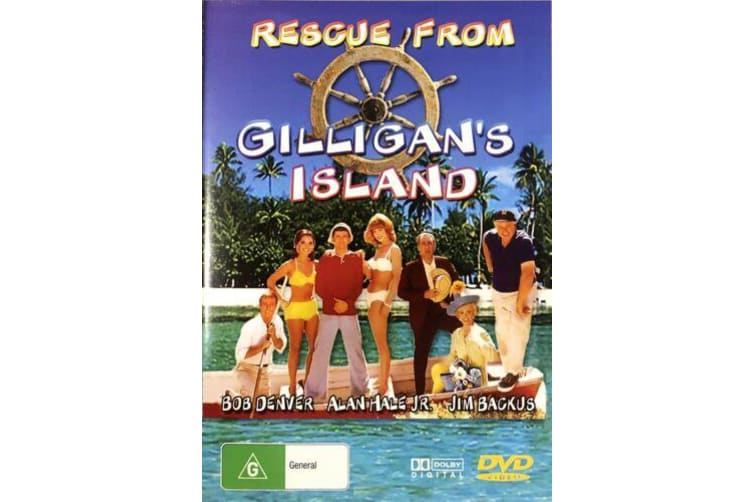 RESCUE FROM GILLIGAN'S ISLAND Bob Denver - Region All DVD PREOWNED: DISC LIKE NEW