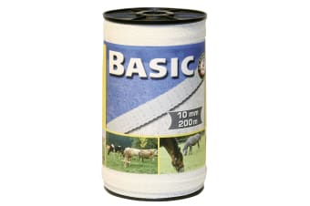 Basic Fencing Tape (White)
