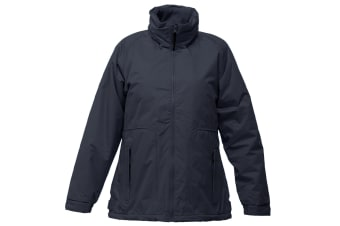 Regatta Womens/Ladies Waterproof Windproof Jacket (Fleece Lined) (Navy) (14)