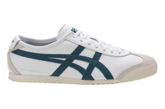 Onitsuka Tiger Mexico 66 Shoe (White/Ink Blue, Size 7.5)