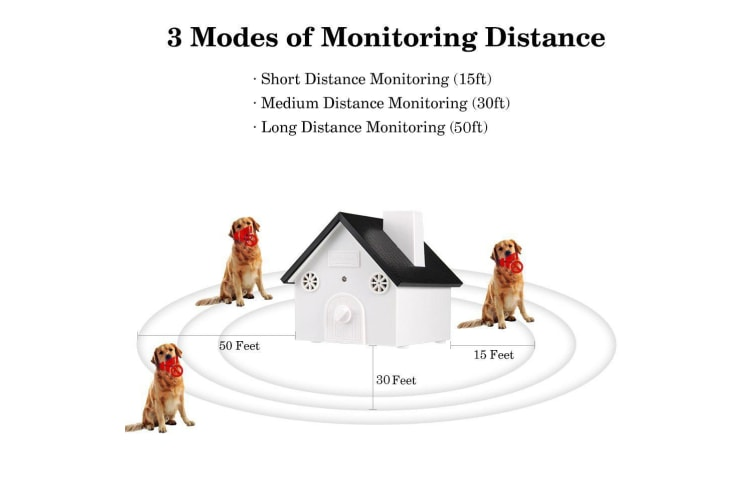 Outdoor Humane Ultrasonic Anti-Barking System - 50 Feet