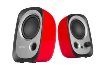 Edifier R12U 2.0 USB Multimedia Speakers - Red (SPE-R12U-RD)