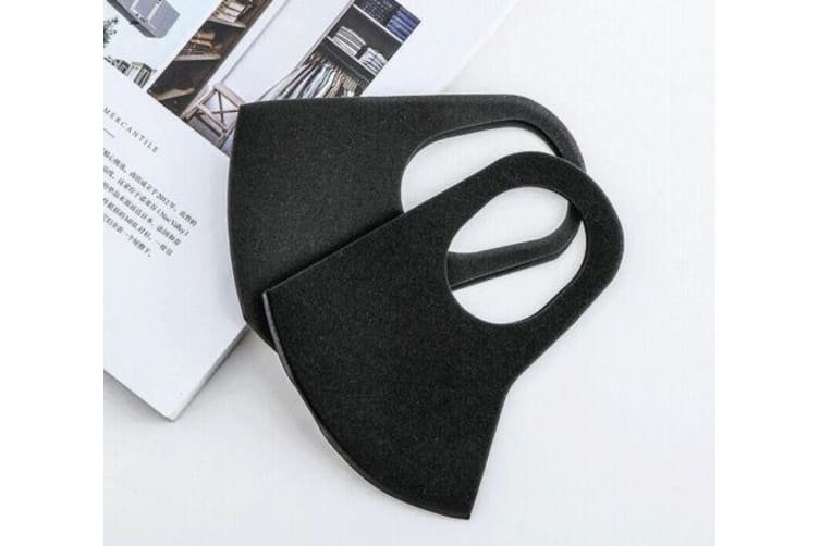 3Pcs Anti-Dust Masks Unisex Black Value Pack Face Mask Cycling Mouth Mask Muffle