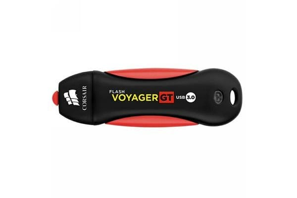 Corsair 64GB Flash Voyager GT USB 3.0, Read 240MBs - Write 100MBs, Plug and Play