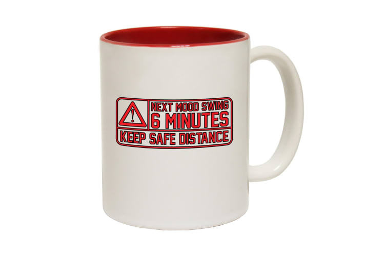 123T Funny Mugs - Next Mood Swing Funny - Red Coffee Cup