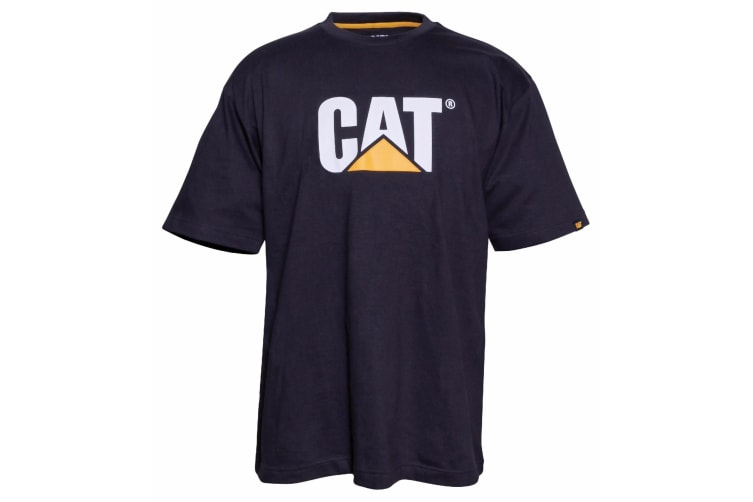 Caterpillar Mens TM Logo Short Sleeve T-Shirt (Black) (XXL)