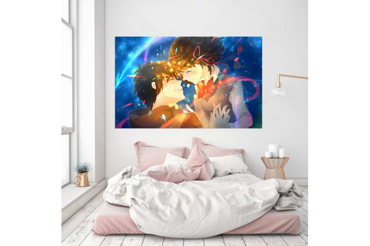 3D Your Name 92 Anime Wall Stickers Self-adhesive Vinyl, 50cm x 30cm(19.7'' x 11.8'') (WxH)