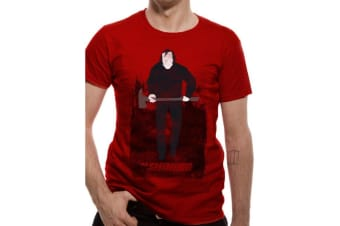 The Shining Unisex Adults Johnny T-Shirt (Red)