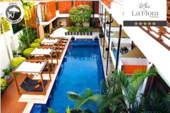 PHUKET: 3 or 5 Nights at La Flora Resort Patong for Two