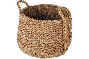 Denmark Sea Grass Dim Jhuri Design Baskets Set of 3