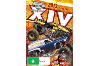 Monster Jam World Finals 2013 XIV DVD Region 4