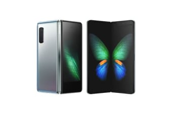 New Samsung Galaxy Fold 512GB 4G LTE Smartphone Silver (FREE DELIVERY + 1 YEAR AU WARRANTY)