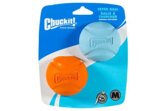 Chuckit Fetch Ball Medium 2 Pack