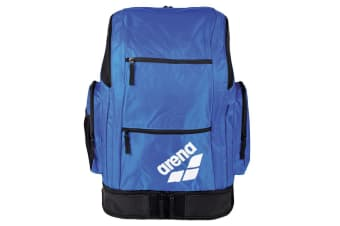 Arena Spiky 2 Large Sports Backpack Water Resistant Swim Storage Bag Royal Blue