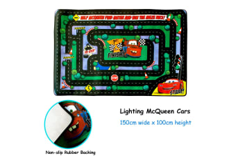 Kids Play Mat Floor Mat McQueen Cars by Disney by Disney
