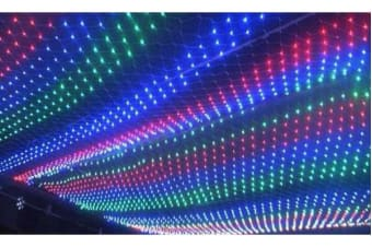 LED Fairy Net Lights Christmas Wedding 4x6m MULTICOLOR