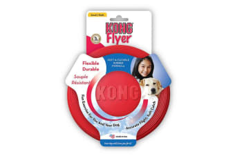 KONG Large Flyer Red Dog Toy Fyling Frisbee