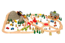 Bigjigs Mountain Railway Set - 112pcs